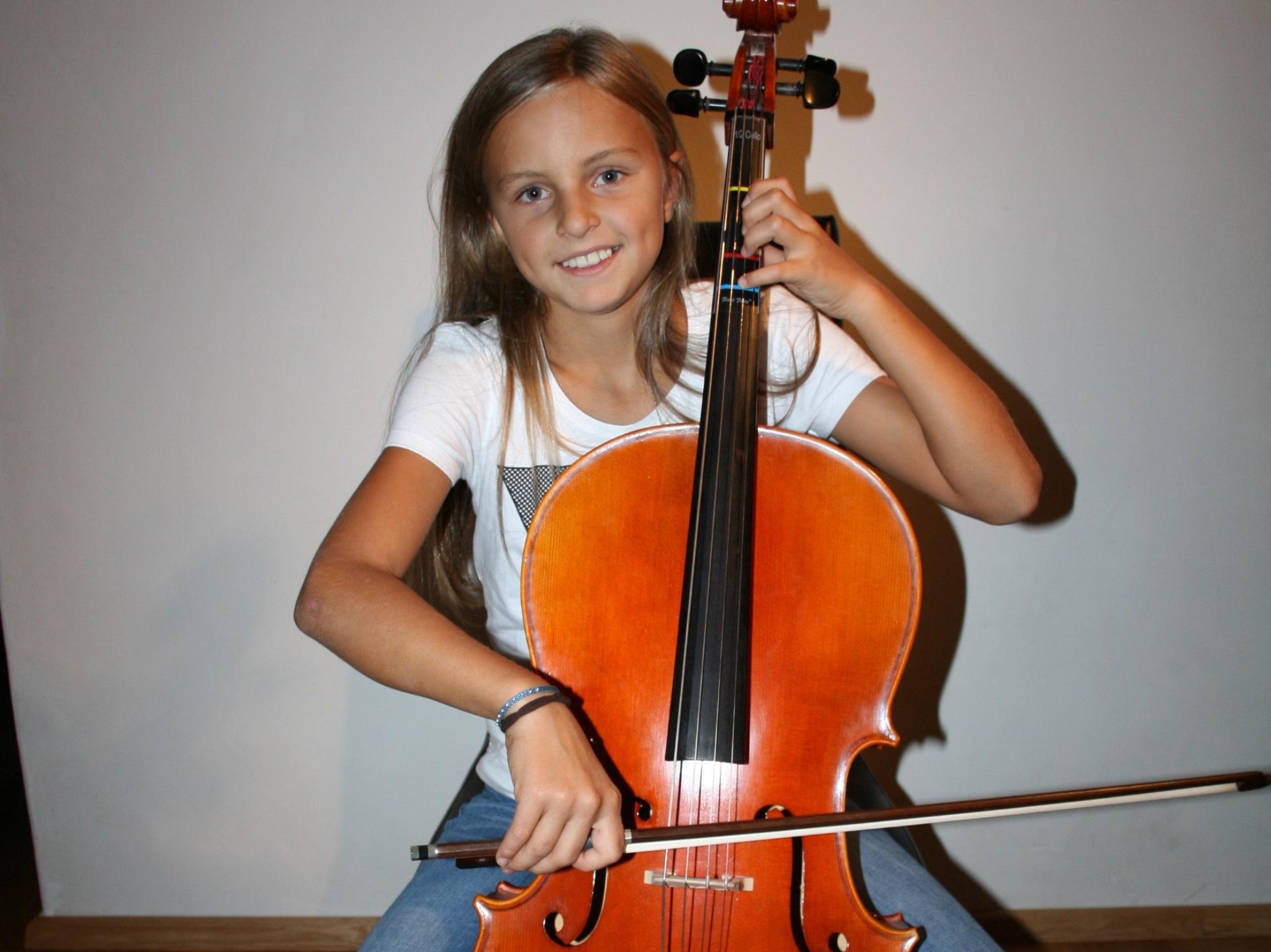 Die bisher jüngste Teilnehmerin Lewinia. Foto: Andy Sauerwein
