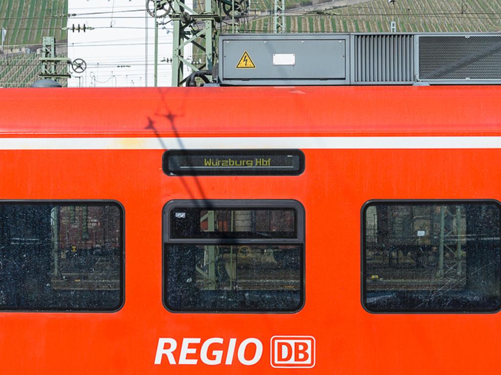 Regionalzug. Symbolfoto: Pascal Höfig