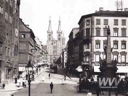 Geschichte der Straßenbahn. Foto: Historisches Archiv der WVV