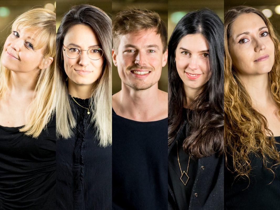 Elise, Maria, Max, Sandra und Lola moderieren bei egoFM. Fotos: egoFM