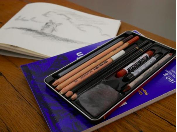Das Museum im Kulturspeicher lädt zum Freien Zeichnen. Foto: Kulturspeicher