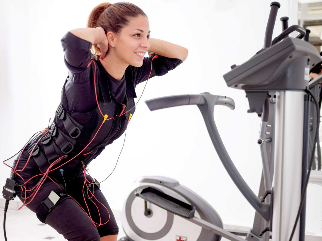 EMS Training bei Körperfaction. Foto: Körperfaction