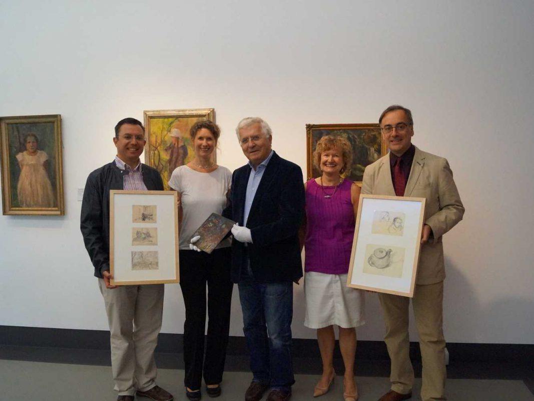 Museum im Kulturspeicher erwirbt Zeichnungen und Ansichtskarten von Gertraud Rostosky. Foto: Museum im Kulturspeicher