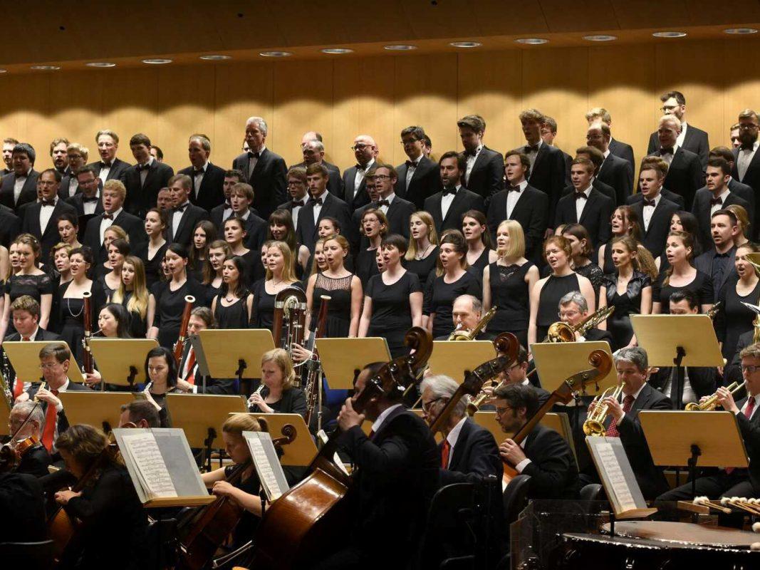 Aufführung Monteverdichor. Foto: Monteverdichor