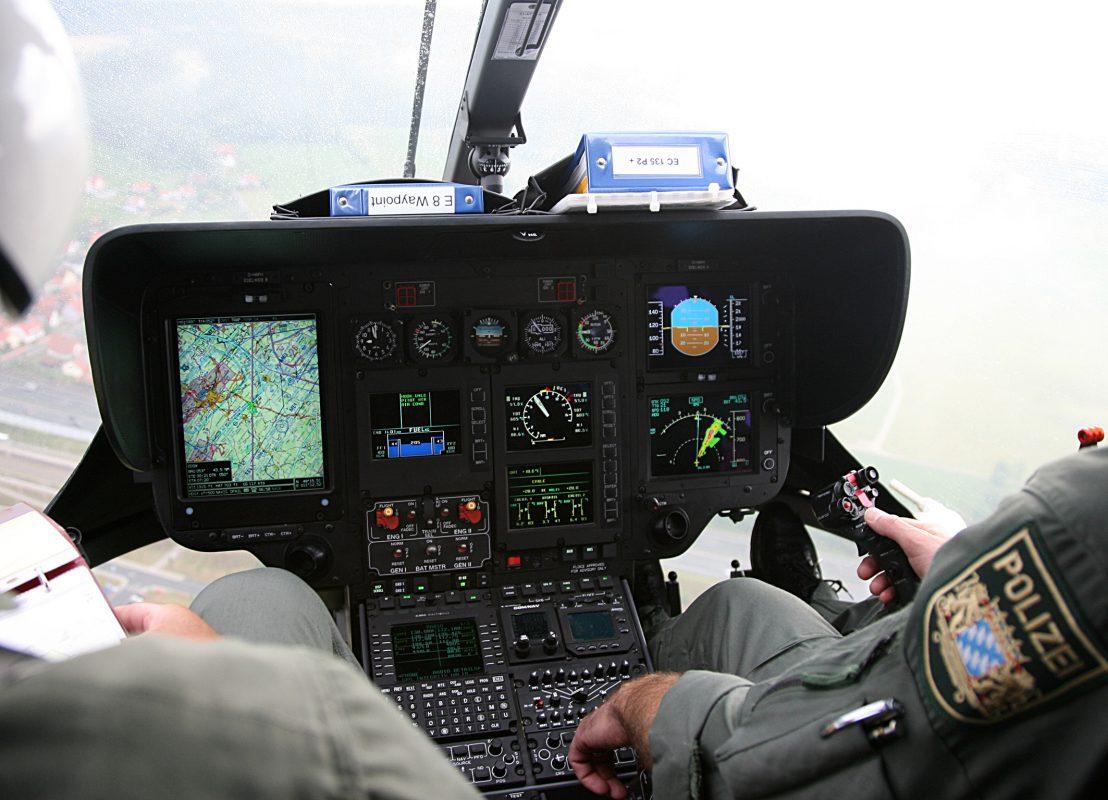 Ein Hubschrauber der Bayerischen Polizeihubschrauberstaffel - Foto: Polizei