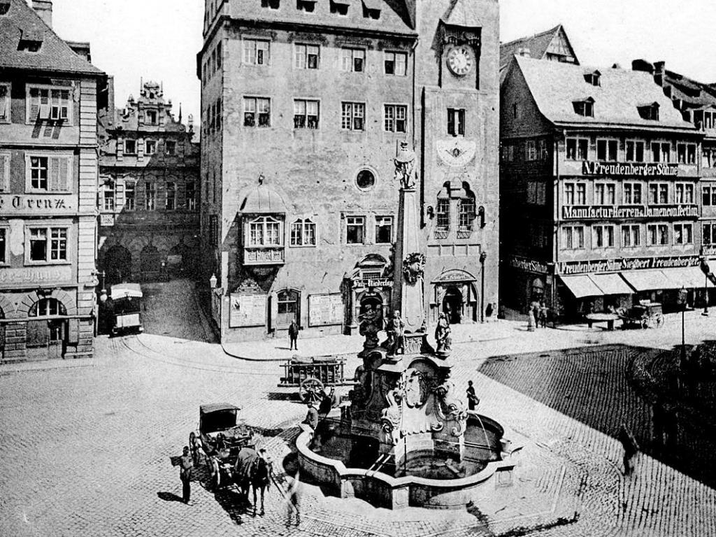 Grafeneckart in Würzburg. Archiv: Willi Dürrnagel