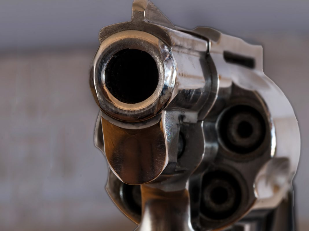 Waffe. Symbolbild: Pascal Höfig