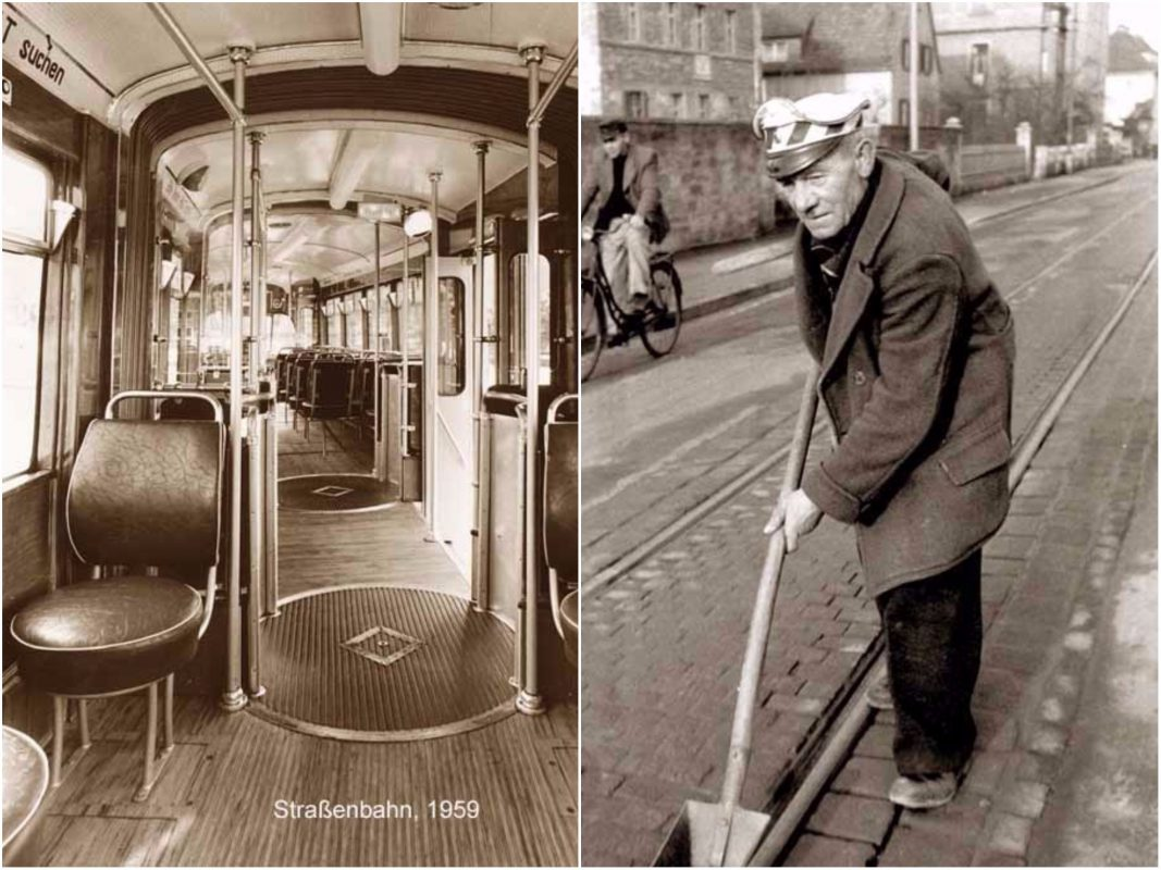"""Sonderausstellung: """" 125 Jahre Straßenbahn"""". Foto: Historisches Archiv WVV"""
