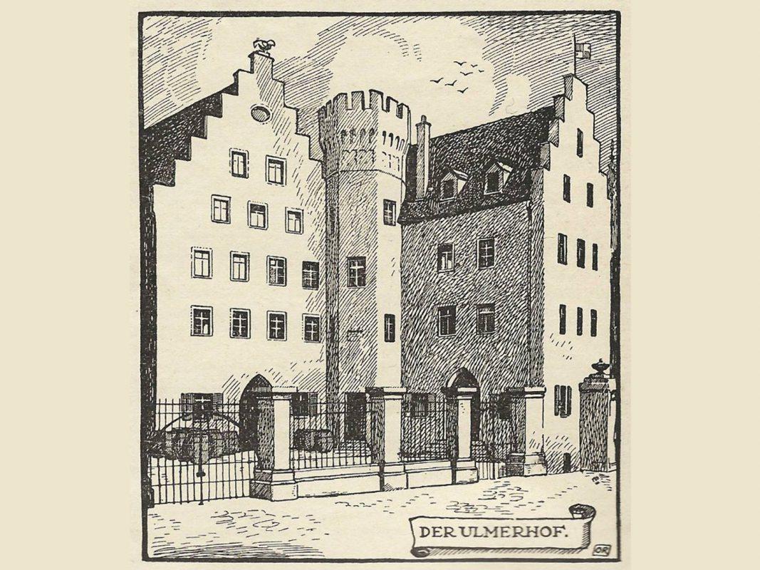 Der Ulmer Hof in Würzburg - Archiv :Willi Dürrnagel