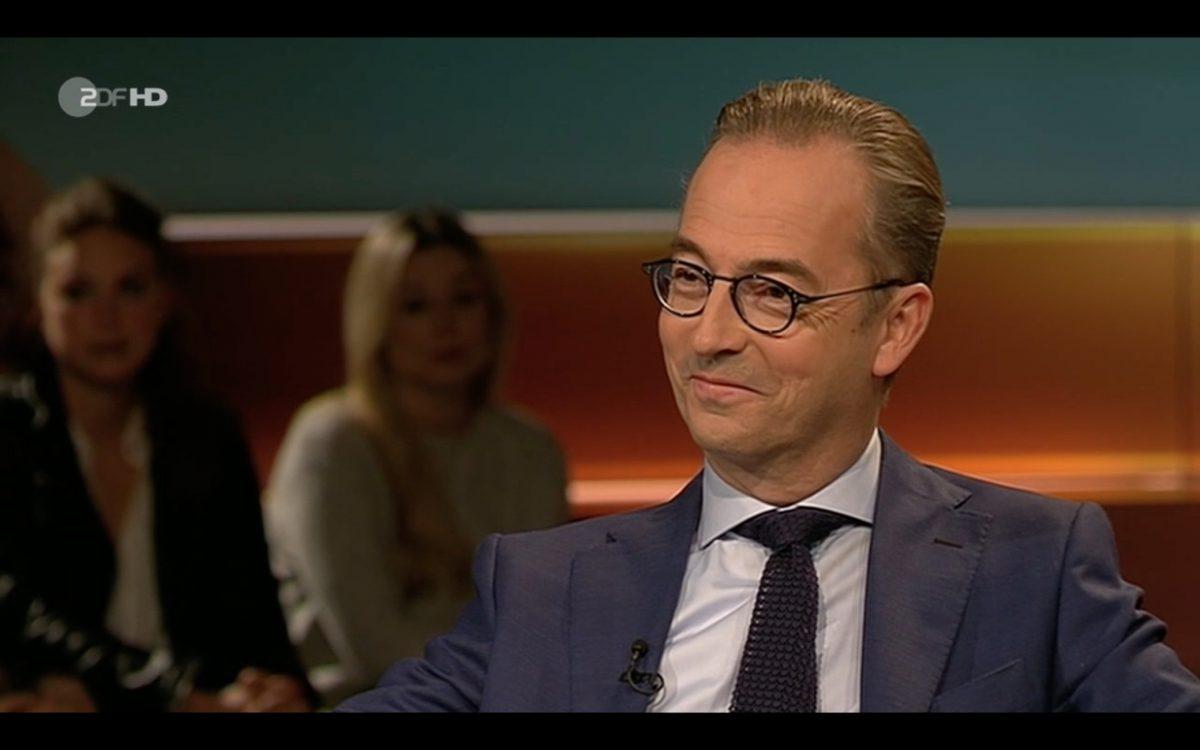 Jan Fleischhauer bei Lanz. Sceenshot: ZDF Mediathek