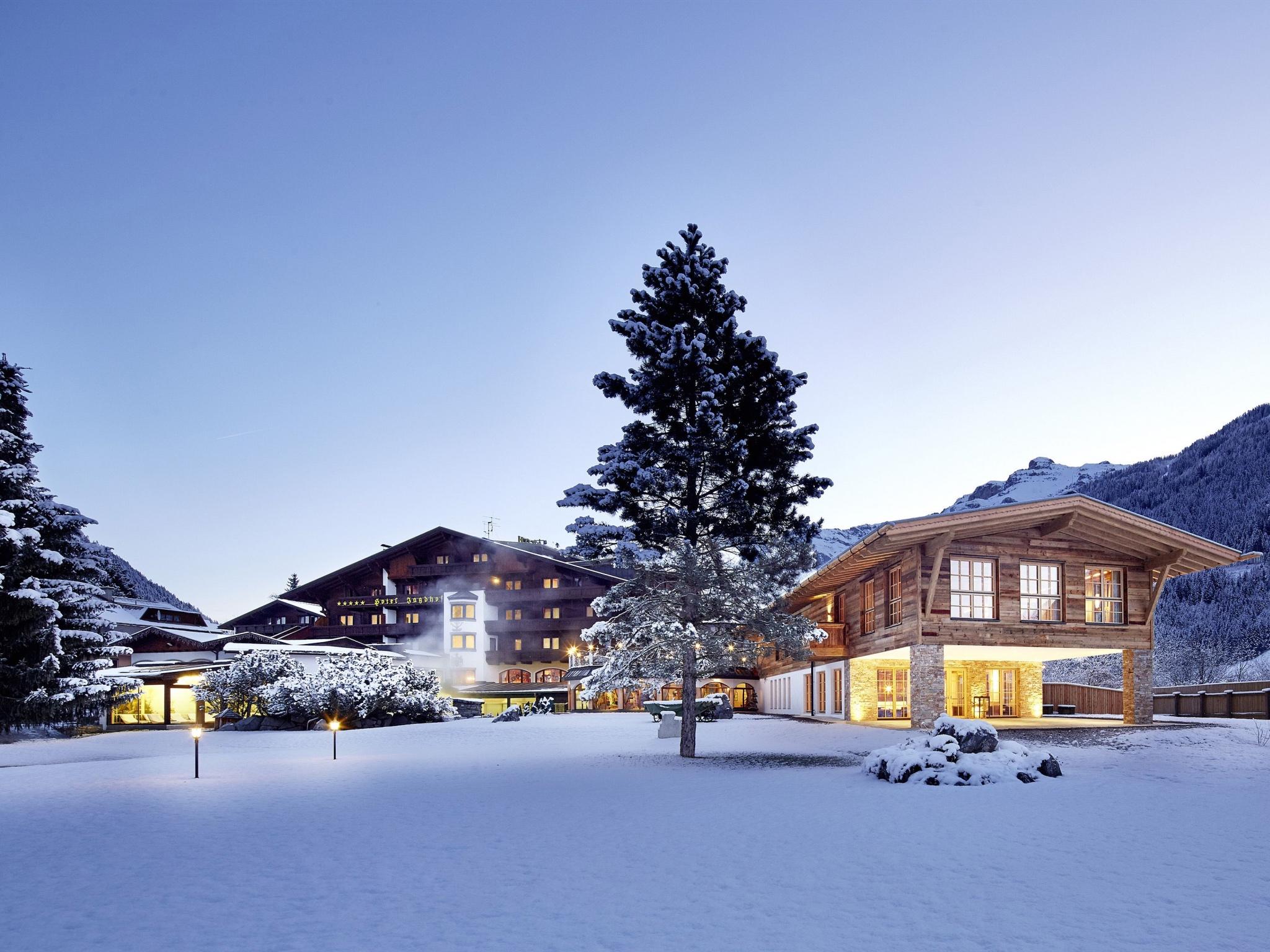 Skispaß und Wellness genießen. Foto: Jagdhof