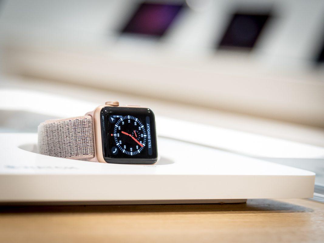 Apple Watch als Fitness-Helfer. Foto: Pascal Höfig