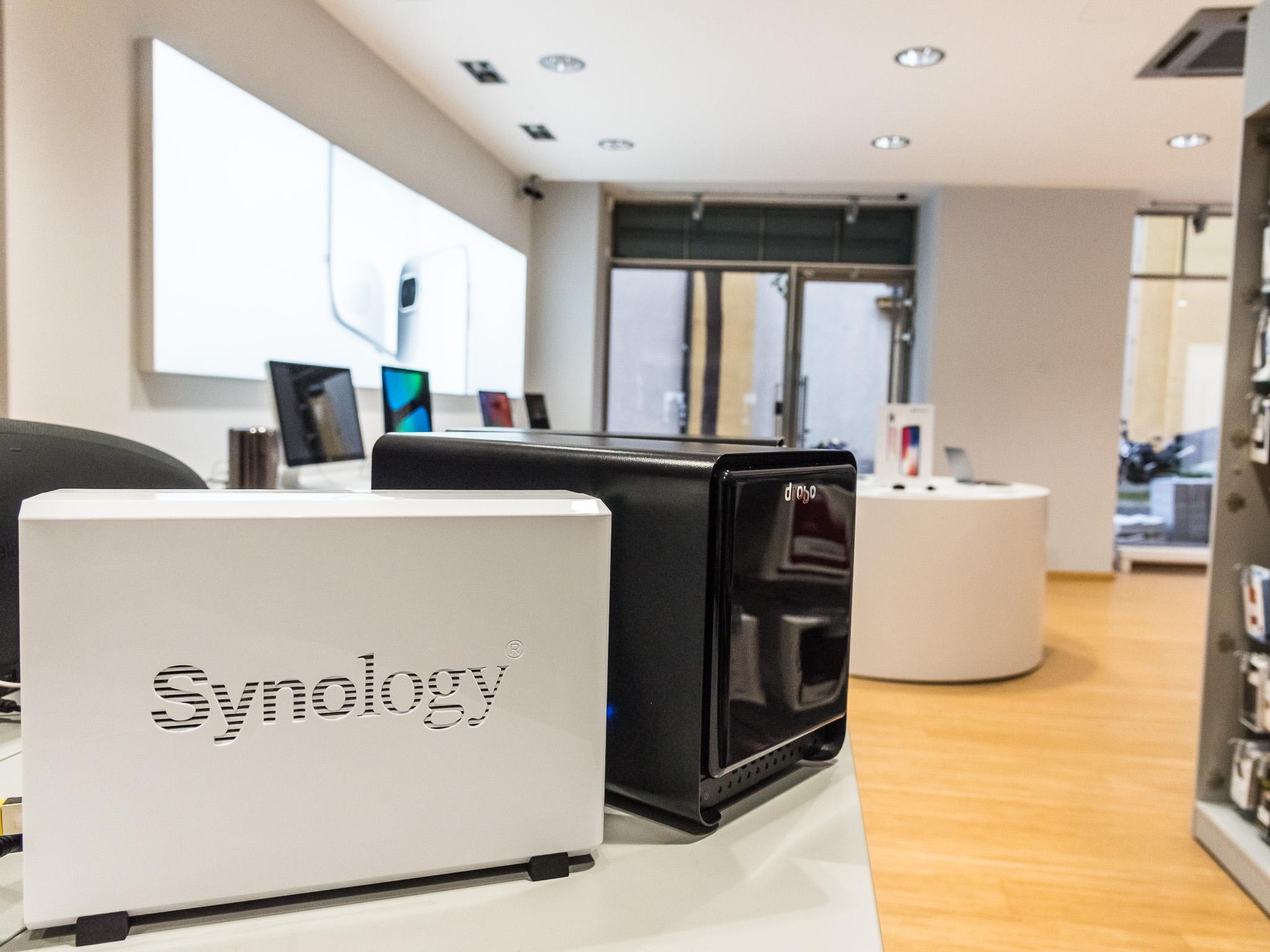 Synology für die Sicherheit der Cloud. Foto: Pascal Höfig