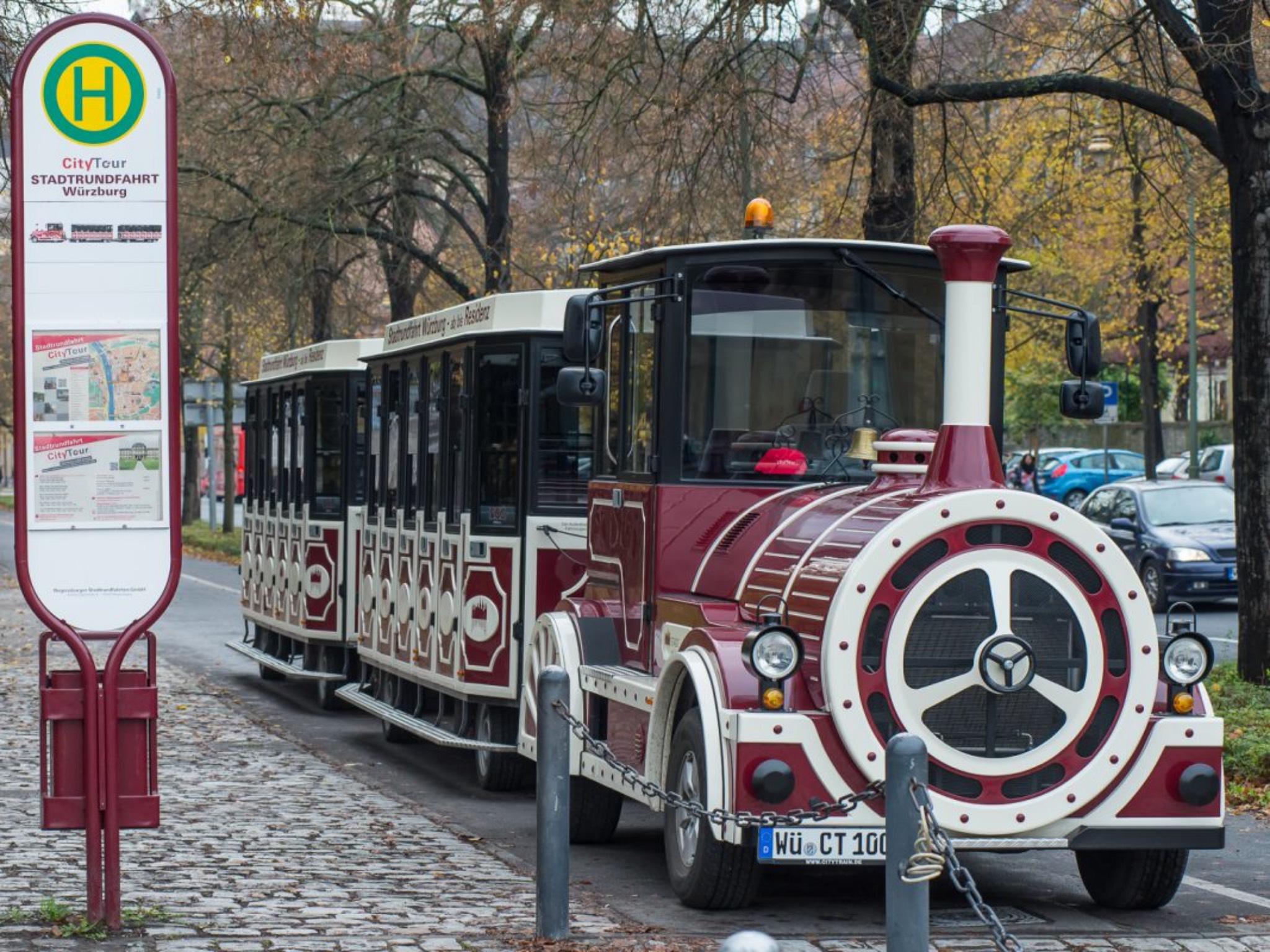 Stadtrundfahrt mit dem City-Train. Foto: Pascal Höfig