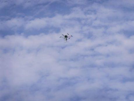 Symbolbild Drohne. Foto: Pascal Höfig.
