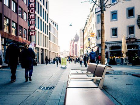 Die Eichhornstraße in Würzburg . Foto: Pascal Höfig