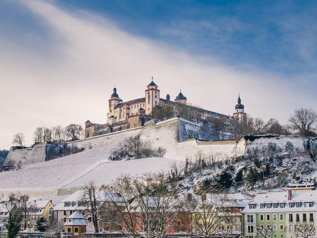 Festung im Schnee. Foto: Andre Höfig