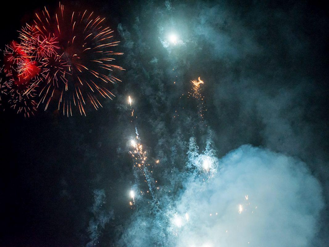 Feuerwerk. Symbolfoto: Pascal Höfig