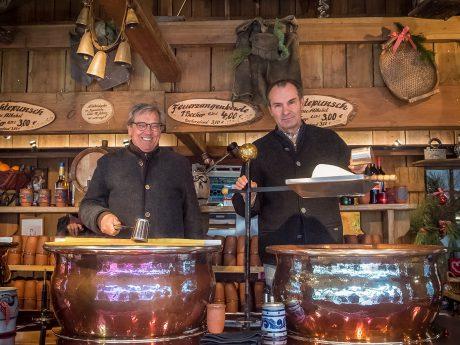 Flexible Arbeitszeiten und fairer Stundenlohn: Distel Feuerzangenbowle sucht Unterstützung auf dem Weihnachtsmarkt. Foto: Pascal Höfig