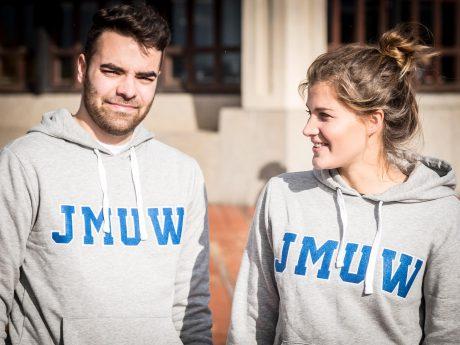 Dern coolen Campus-Hoodie gibt es zu gewinnen! Foto: Pascal Höfig