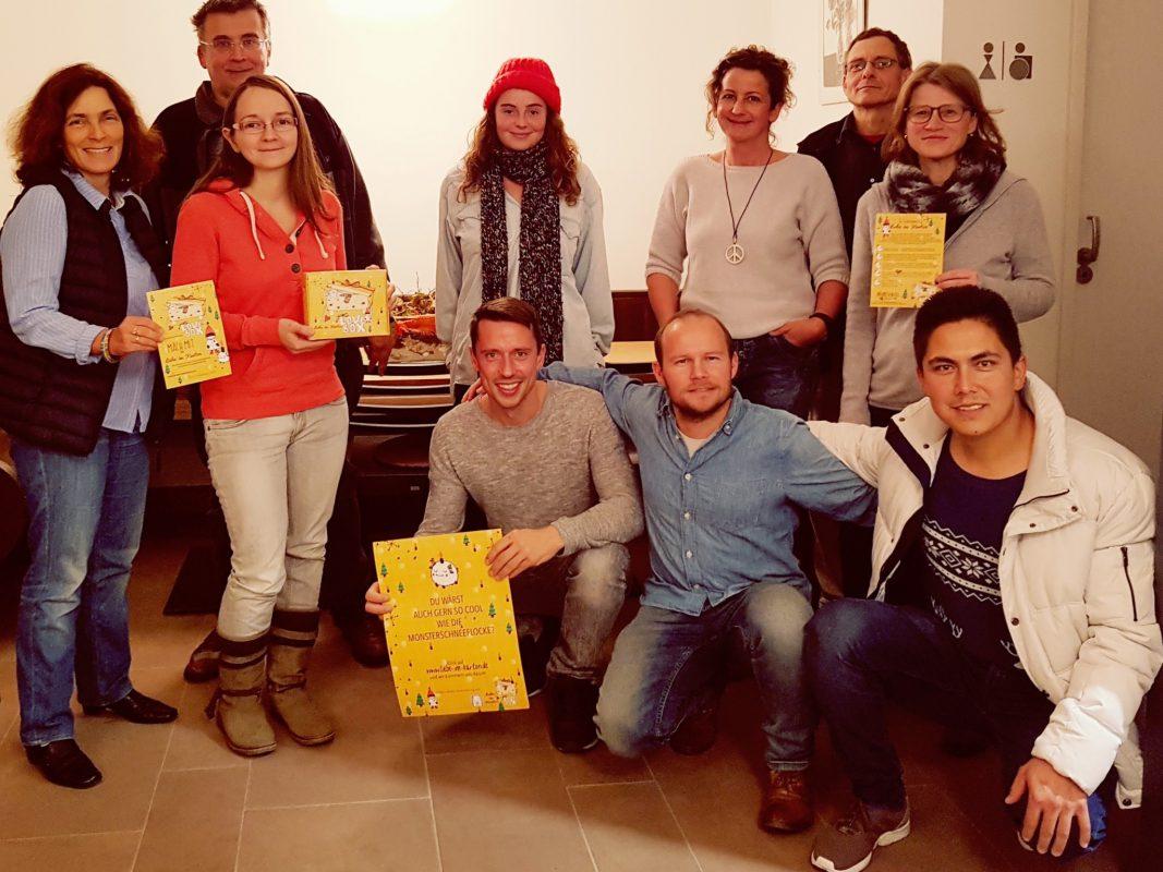 """Das Team von """"Liebe im Karton"""". Foto: Tobias Winkler"""