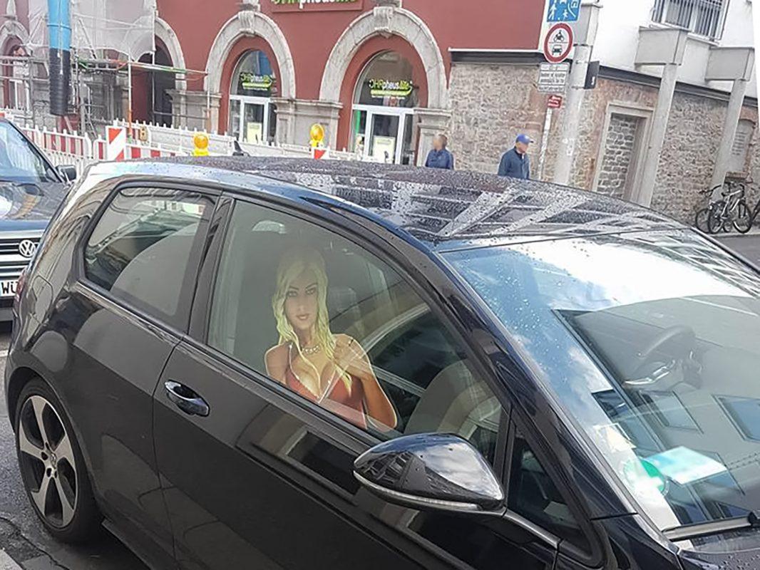 Wunschbeifahrerin der Würzburger? Foto: Kathrin He
