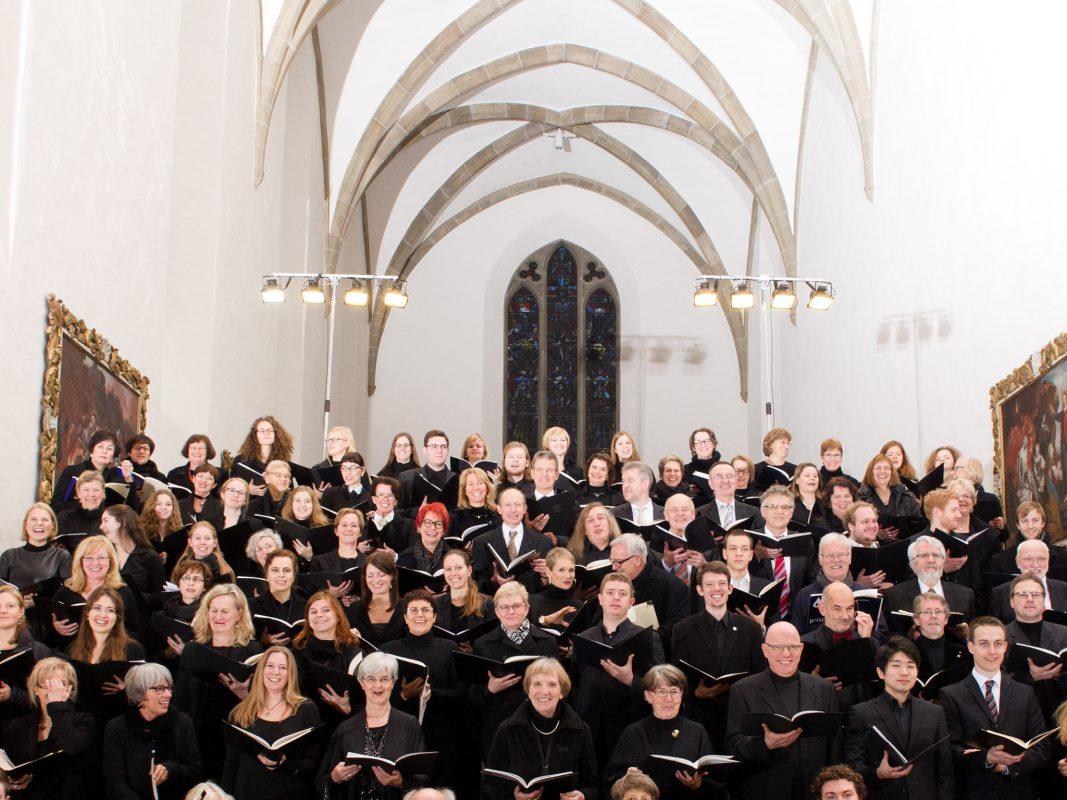 Oratorienchor. Foto: Oratorienchor Würzburg