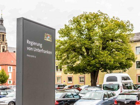 Regierung von Unterfranken. Symbolfoto: Pascal Höfig