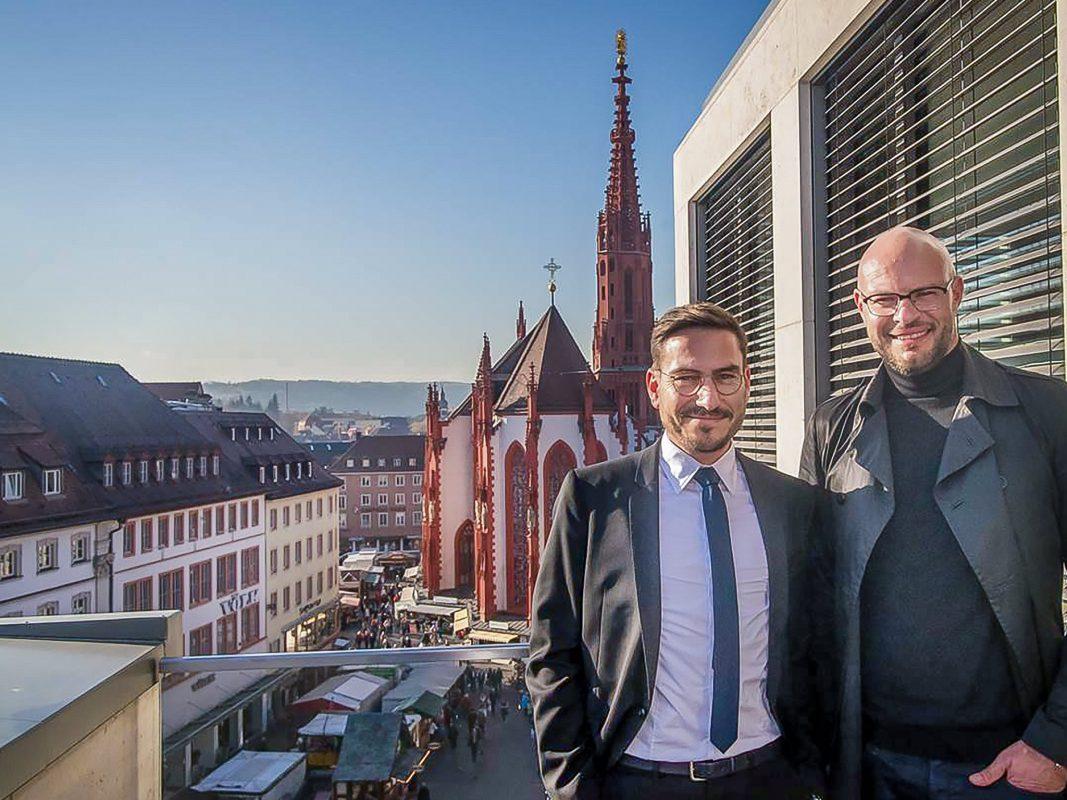 Martin Reitmaier und Peter Möckesch von den Reitmeier Rechtsanwälten. Foto: Pascal Höfig
