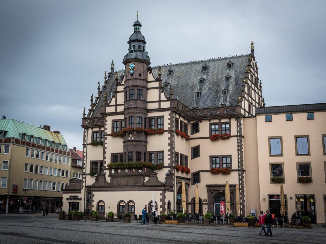 Schweinfurter Rathaus. Foto: Pascal Höfig