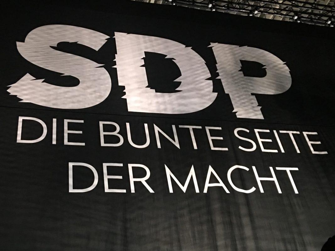 """""""Die bunte Seite der Macht"""" heißt die aktuelle Tour von SDP - Foto: Frederik Löblein."""