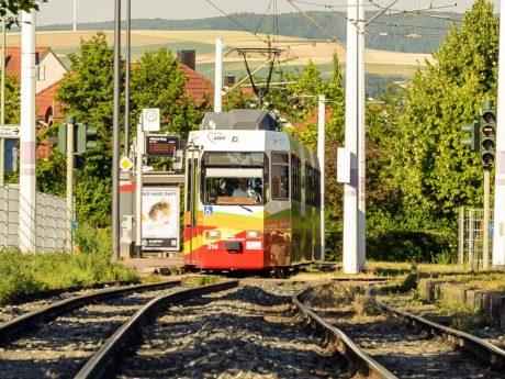 Straßenbahnnetz in Würzburg. Symbolbild: Pascal Höfig