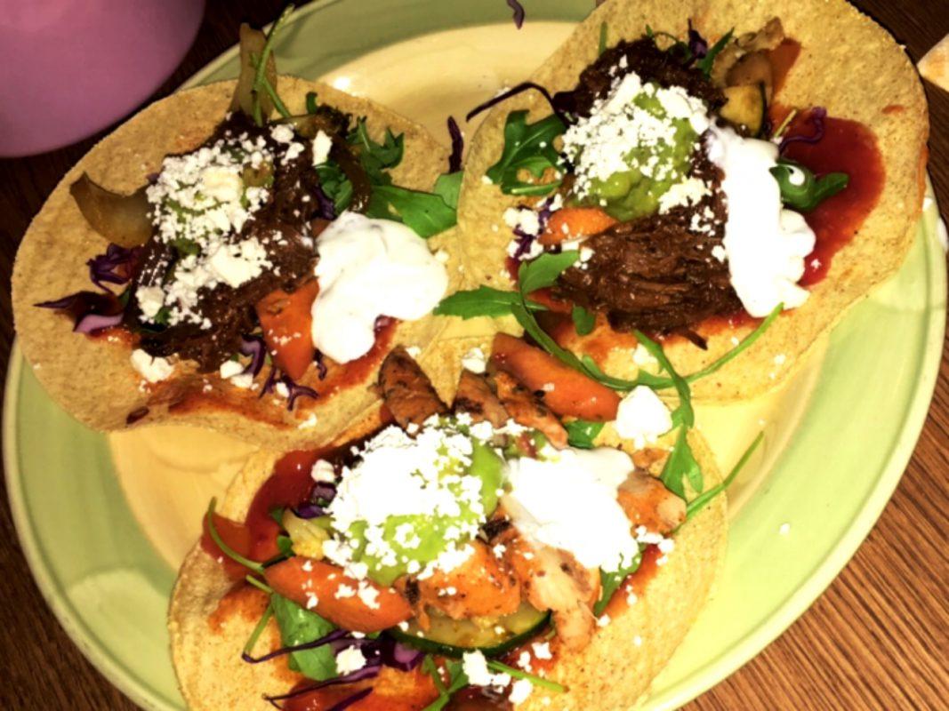 Mexikanische Tacos. Foto: Anja Reichert