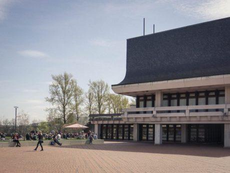 Mensa der Universität am Hubland. Foto: Dominik Ziegler