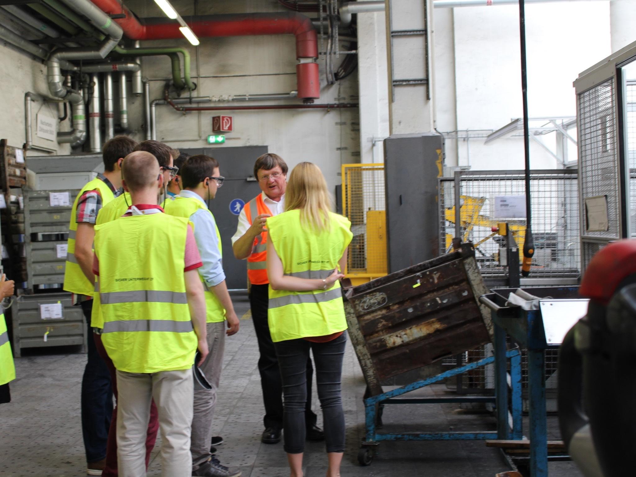 Die career tours bieten Einblick in führende Unternehmen. Foto: ZF Friedrichshafen AG / Region Mainfranken GmbH