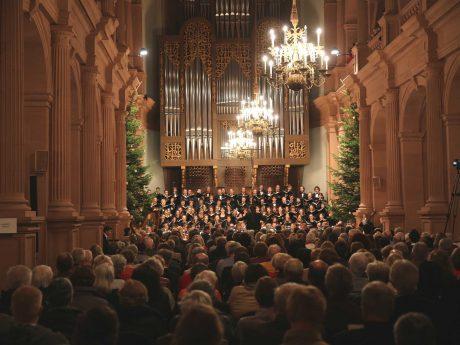 Das Weihnachtsoratorium des Monteverdichors vom letzten Jahr. Foto: Monteverdichor