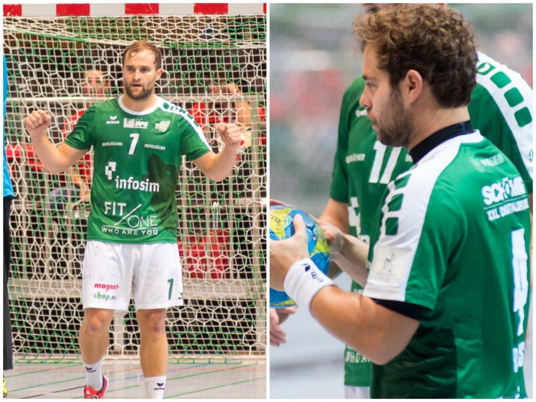 Basti Kraus und Stefan Schmitt beenden Karriere. Fotocollage: Pascal Höfig