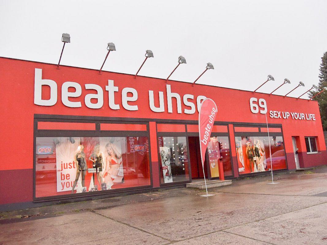 Beate Uhse in Würzburg. Foto: Pascal Höfig