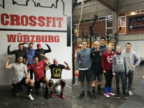Zwei der drei Teams bei CrossFit Würzburg. Foto: Inka