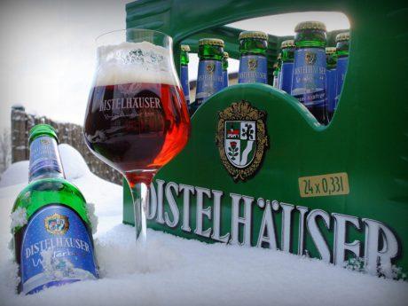 Lecker Glühbier mit dem Distelhäuser Winterbock. Foto: Distelhäuser Brauerei