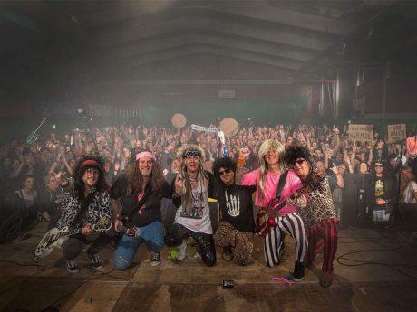Die Chrome Metal Tigers auf ihrem Benefizkonzert. Foto: AJ Braun Photography
