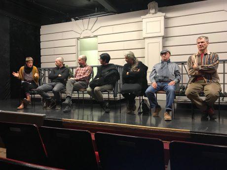IG Freie Theater Würzburg bei der Pressekonferenz. Foto: Anja Reichert