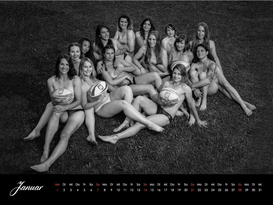 Heiß, heißer, Rugby! Das Januar-Kalenderblatt. Foto: Felix Tröbs