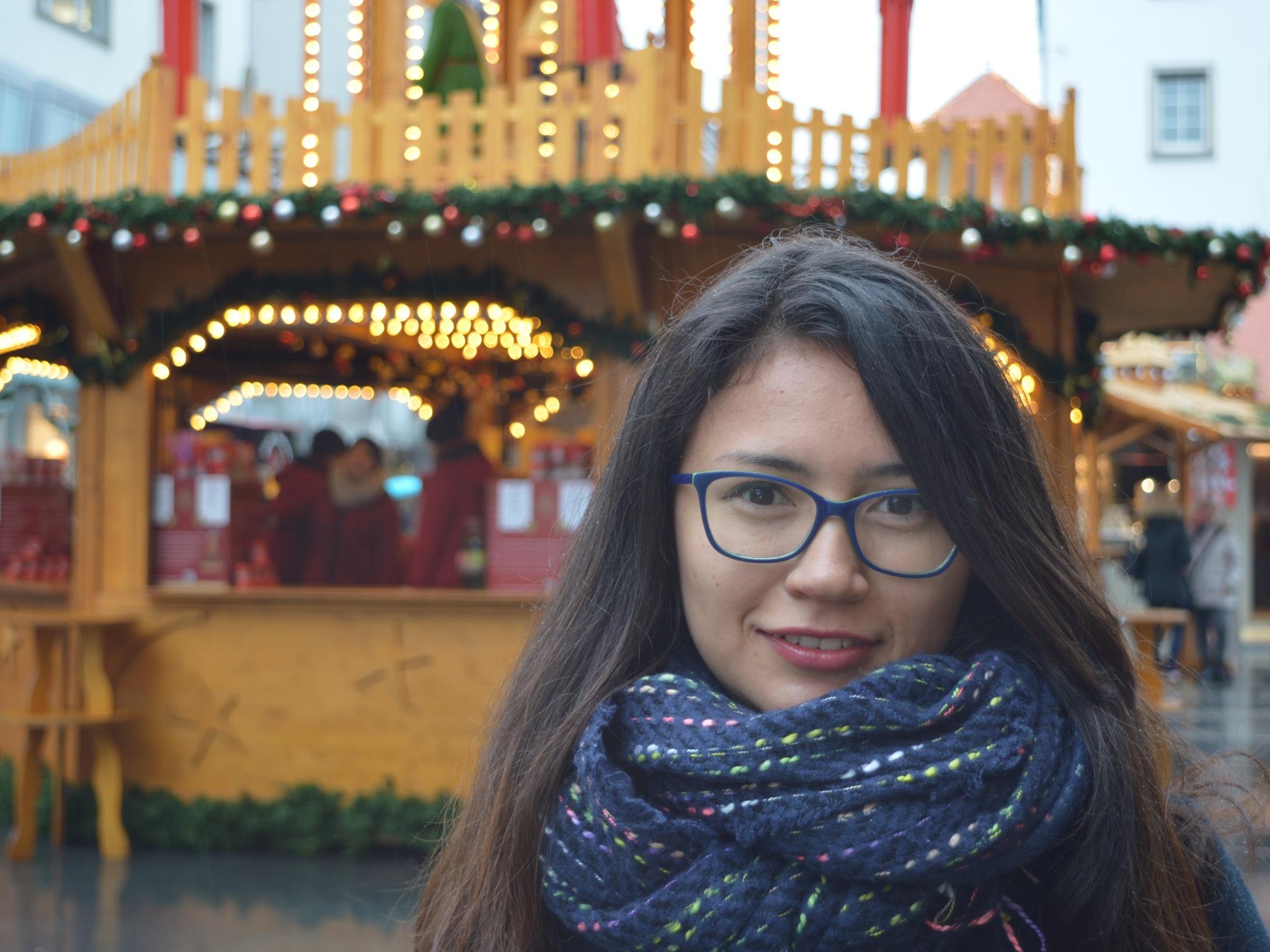 Valeria aus Kolumbien. Foto: Katharina Bormann