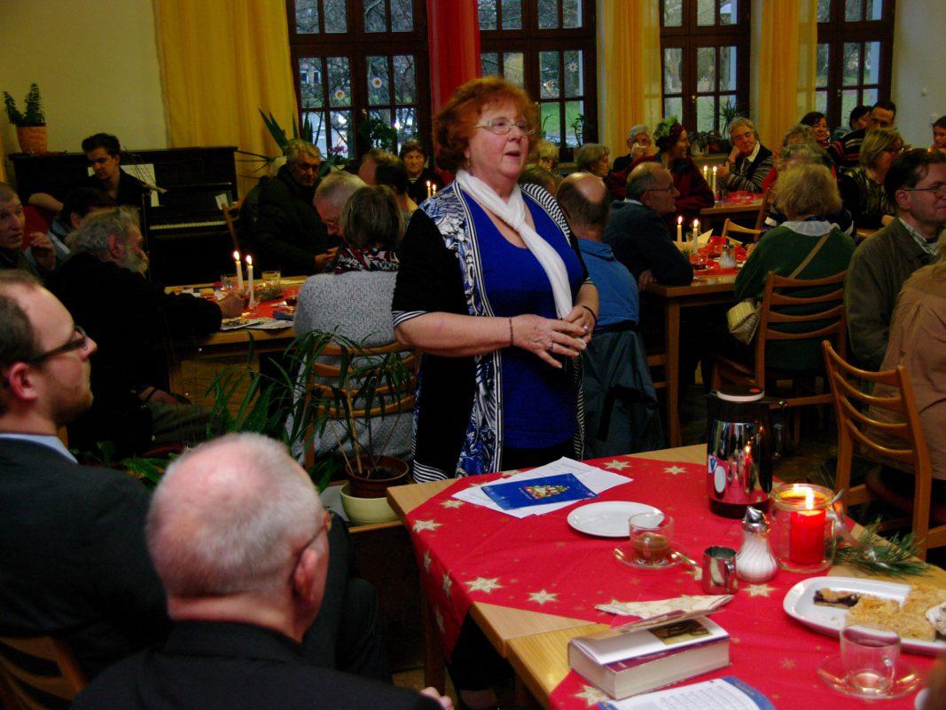 Weihnachtslieder gehören einfach dazu! Foto: Caritasverband für Stadt und Landkreis Würzburg
