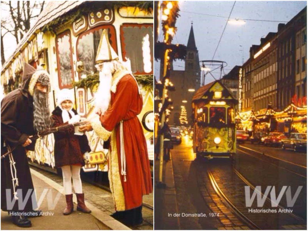 Das historische Archiv der WVV zeit am 7. Dezember die Geschichte der Nikolausbahn. Archiv: Historisches Archiv der WVV