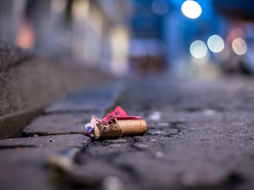 Feuerwerkskörper. Foto: Pascal Höfig