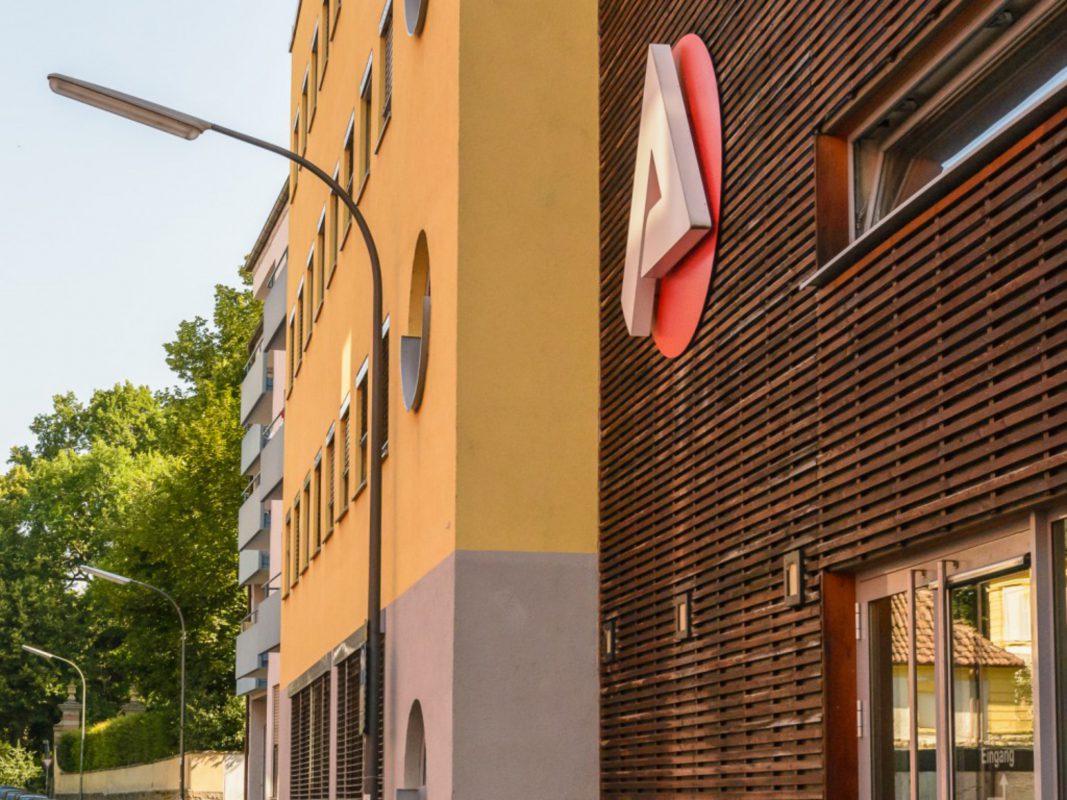 Agentur für Arbeit Würzburg. Foto: Pascal Höfig