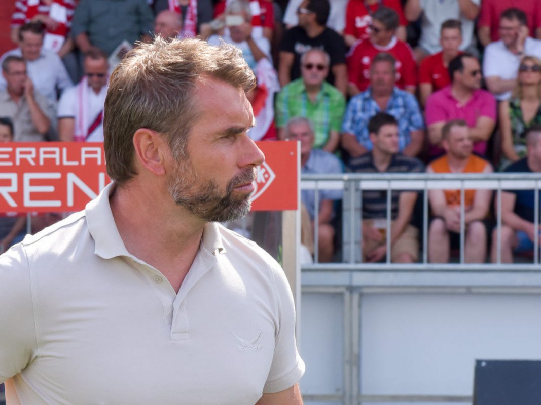 Fußballtrainer Bernd Hollerbach. Foto: Pascal Höfig