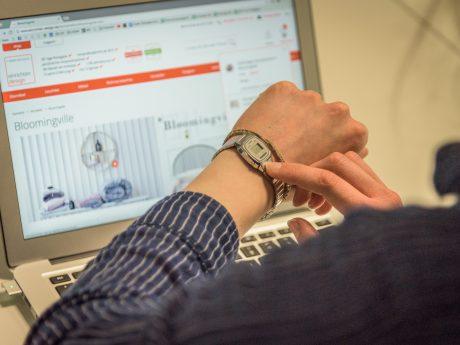 Online shoppen ohne Wartezeit bei einrichten.design.de! Foto: Pascal Höfig